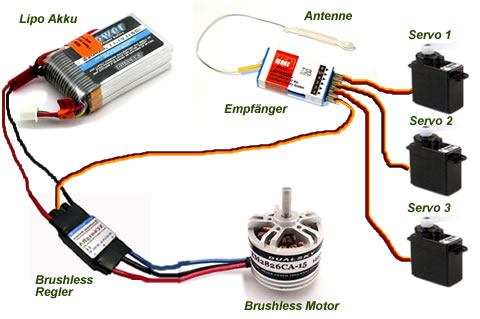 Electric Brushless Motor Car
